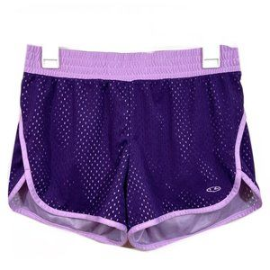 Champion Lined Mesh Athletic Running Shorts S